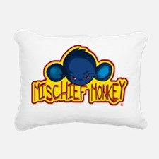 Mischiefmonkeylogo Rectangular Canvas Pillow