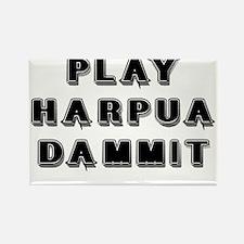 Play Harpua Dammit Rectangle Magnet