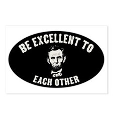 lincoln-excellent-CAP Postcards (Package of 8)