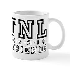 Backwards Down The Number Line Small Mug