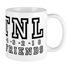 Backwards Down The Number Line Small Small Mug