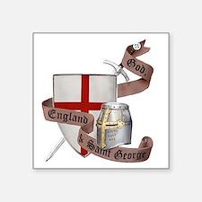 """2-knights templar non nobis Square Sticker 3"""" x 3"""""""