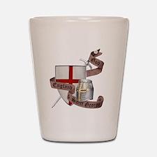 2-knights templar non nobis st george Shot Glass