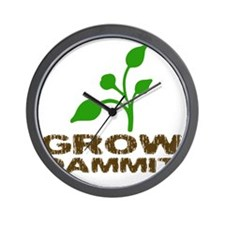 growDammitLite Wall Clock