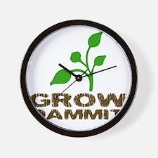 growDammitLite Wall Clock