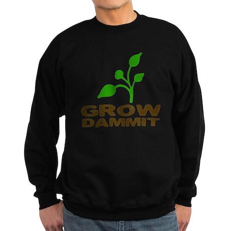 growDammitLite Sweatshirt (dark)