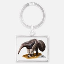 Giant Anteater Landscape Keychain