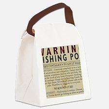 Fishing-Pox Canvas Lunch Bag