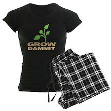 growDammitDark Pajamas