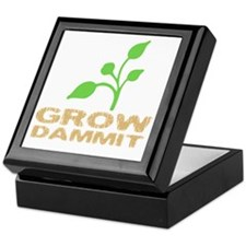 growDammitDark Keepsake Box