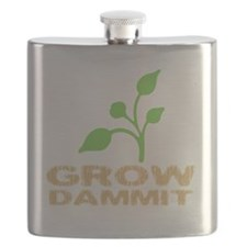 growDammitDark Flask