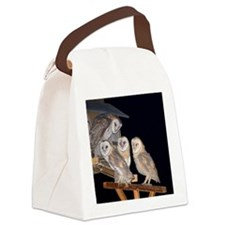 Group Shot Canvas Lunch Bag
