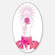 Belly Dance Sunrise Sticker (Oval)