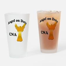 Angel on duty cna copy Drinking Glass