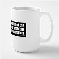 bumper-RR-newsz_GovSolution Large Mug