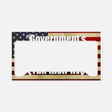 Ronald Reagan Quotes License Plate Holder