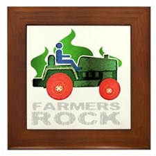 farmersRockDark Framed Tile