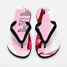 MoDEl Me On Pink Flip Flops