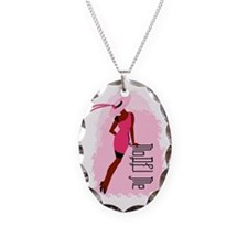 MoDEl Me On Pink Necklace