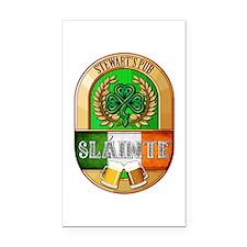 Stewart's Irish Pub Rectangle Car Magnet