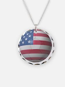 USA Soccer 2010 Necklace