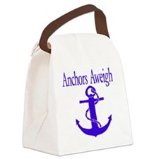 Anchors Aweigh Canvas Lunch Bag