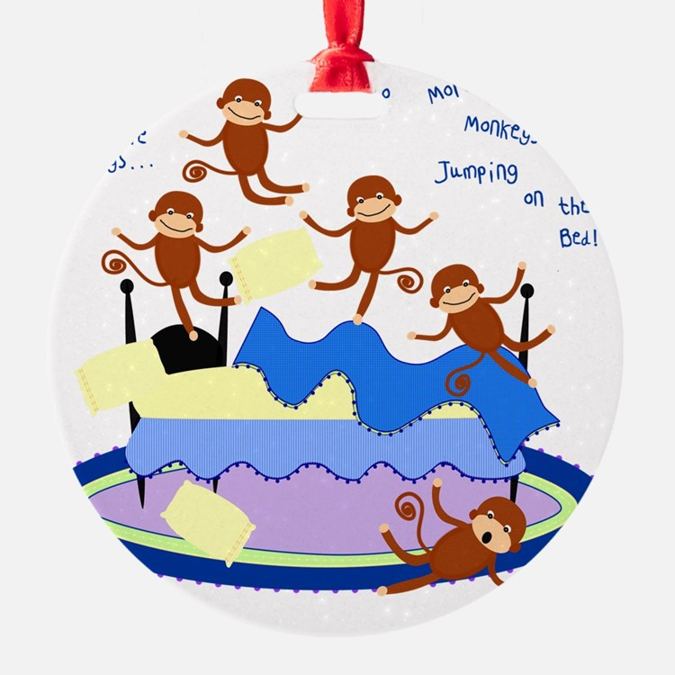 Five Little Monkeys Ornament