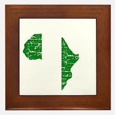 african soccer designs Framed Tile
