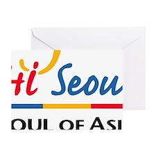 Seoul_Flag Greeting Card