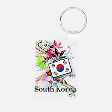 flowerSouthKorea1 Keychains