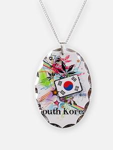 flowerSouthKorea1 Necklace