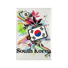 flowerSouthKorea1 Rectangle Magnet