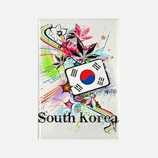 flowerSouthKorea1 Rectangle Magnet