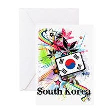 flowerSouthKorea1 Greeting Card