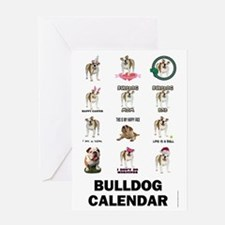 3-FIN-bulldogs-VERTCAL-COVER Greeting Card