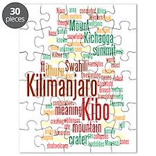 wordle 5 dark kilimanjaro Puzzle