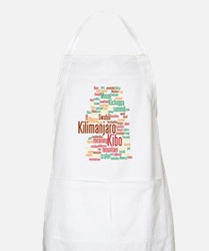 wordle 5 dark kilimanjaro Apron