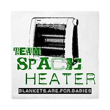 team space heater Queen Duvet