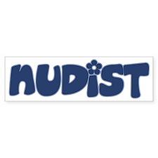 nudist Car Sticker