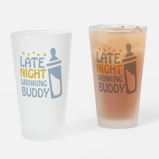drinkingbuddy_dark Drinking Glass