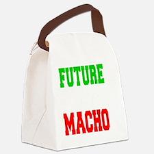 Future Italian Macho Baby Shirt Canvas Lunch Bag