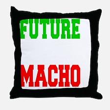 Future Italian Macho Baby Shirt Throw Pillow