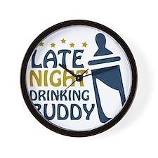 drinkingbuddy Wall Clock