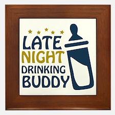 drinkingbuddy Framed Tile