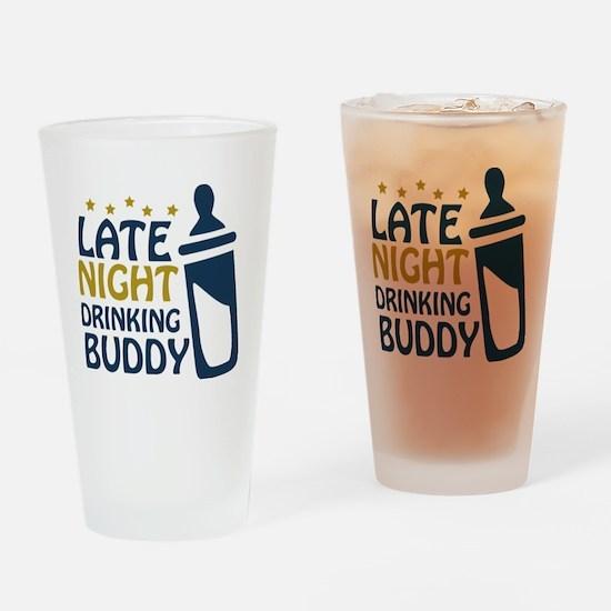 drinkingbuddy Drinking Glass