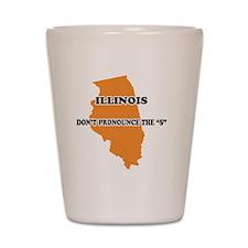 2-Illinois Shot Glass