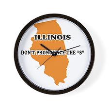 2-Illinois Wall Clock