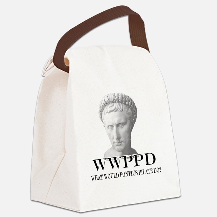 2-WWPPD Canvas Lunch Bag
