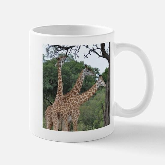 three giraffes Mugs
