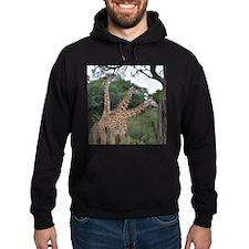 three giraffes Hoodie